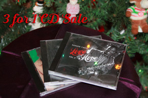 3 for 1 CD Sale at VaughnFahieJAzz.com